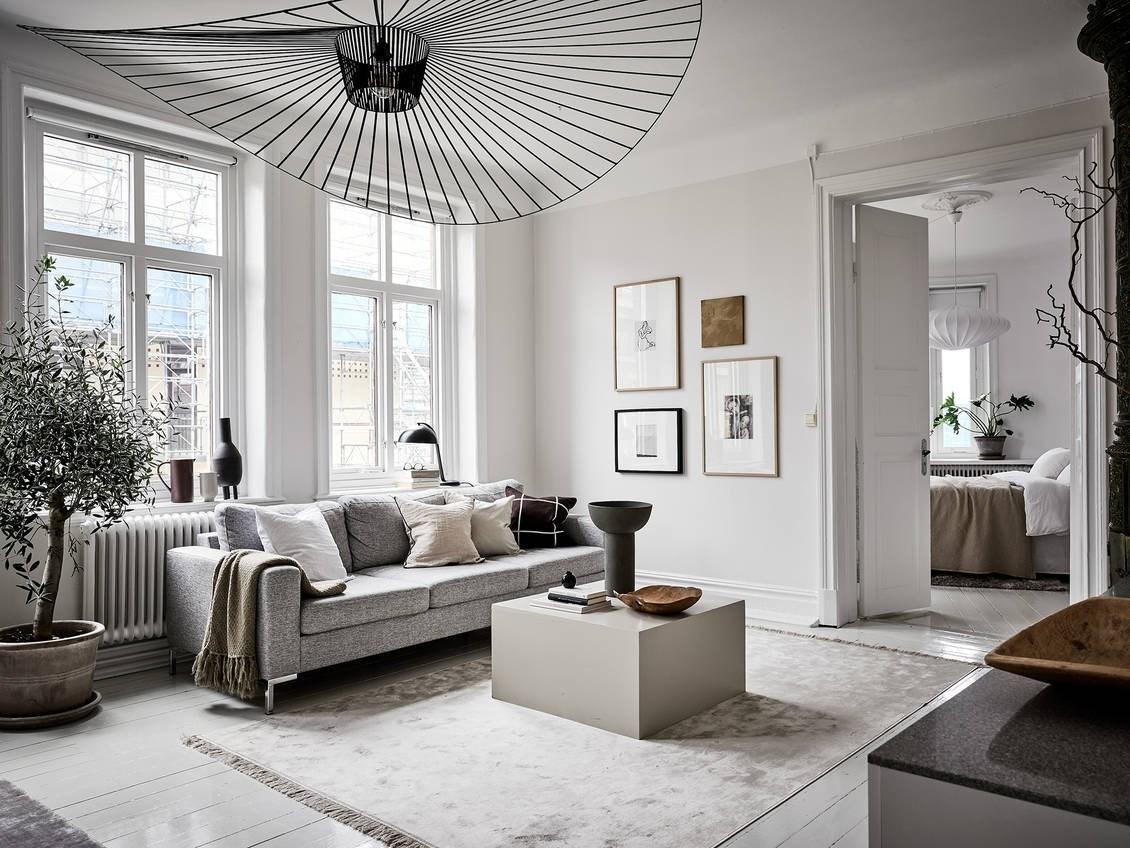 Gaya desain interior ala Skandinavia – source: pinterest.com
