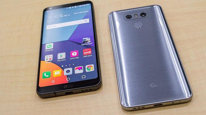Mua LG G6 chính hãng xách tay ở đâutại TPHCM