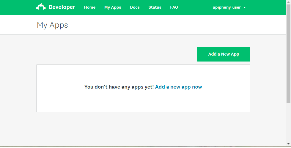 Add a New App in SurveyMonkey