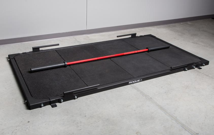 Rogue Deadlift Platform has a bolt-together user-friendly design that can be assembled quickly and is from a renowned manufacturer name in the home gym equipment business