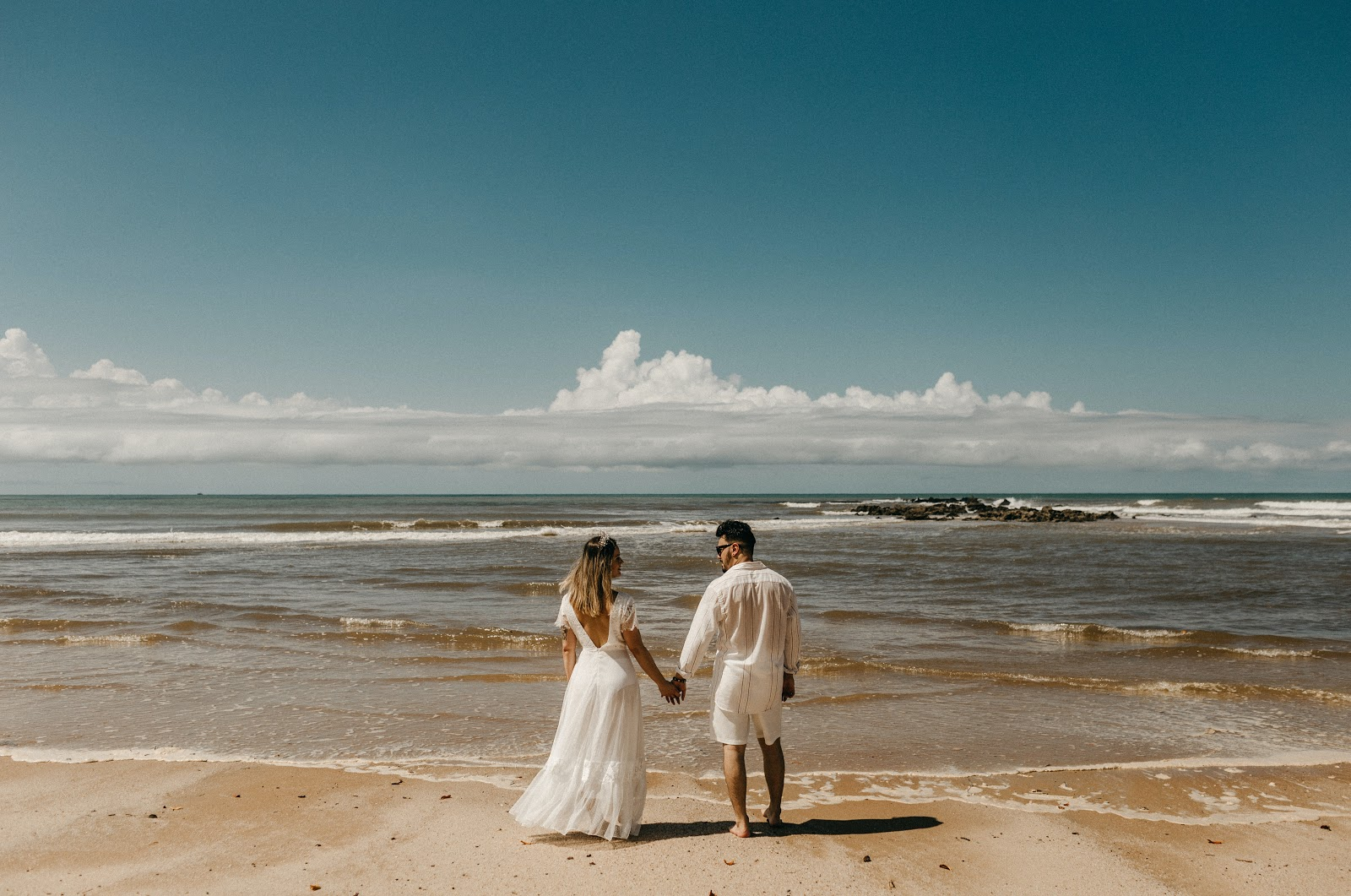 getting married on the beach
