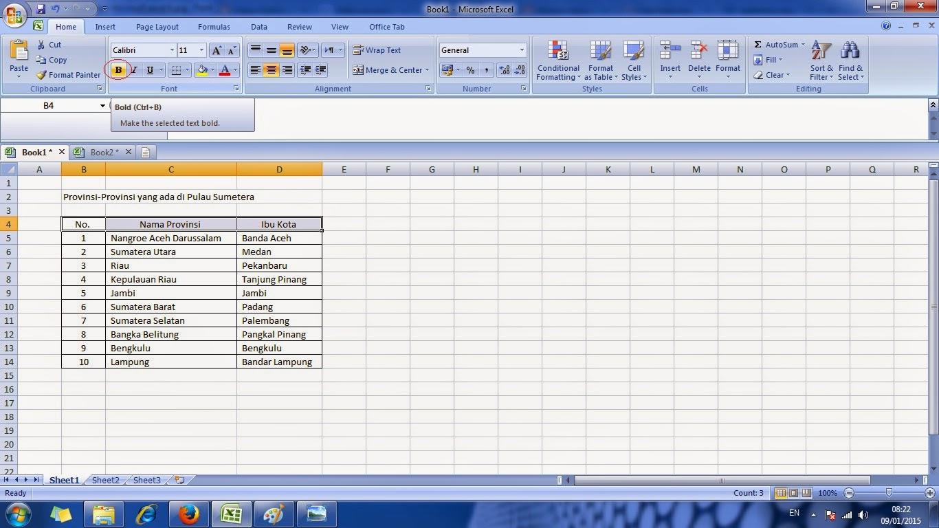 cara, cepat, belajar, microsoft, excel, mudah, office, word