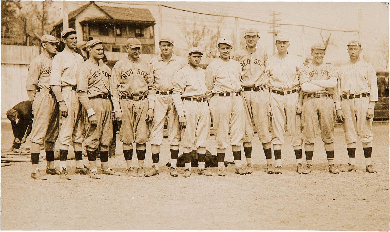 1915的波士顿红袜队合照