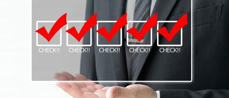 政策金融公庫融資チェックボックス