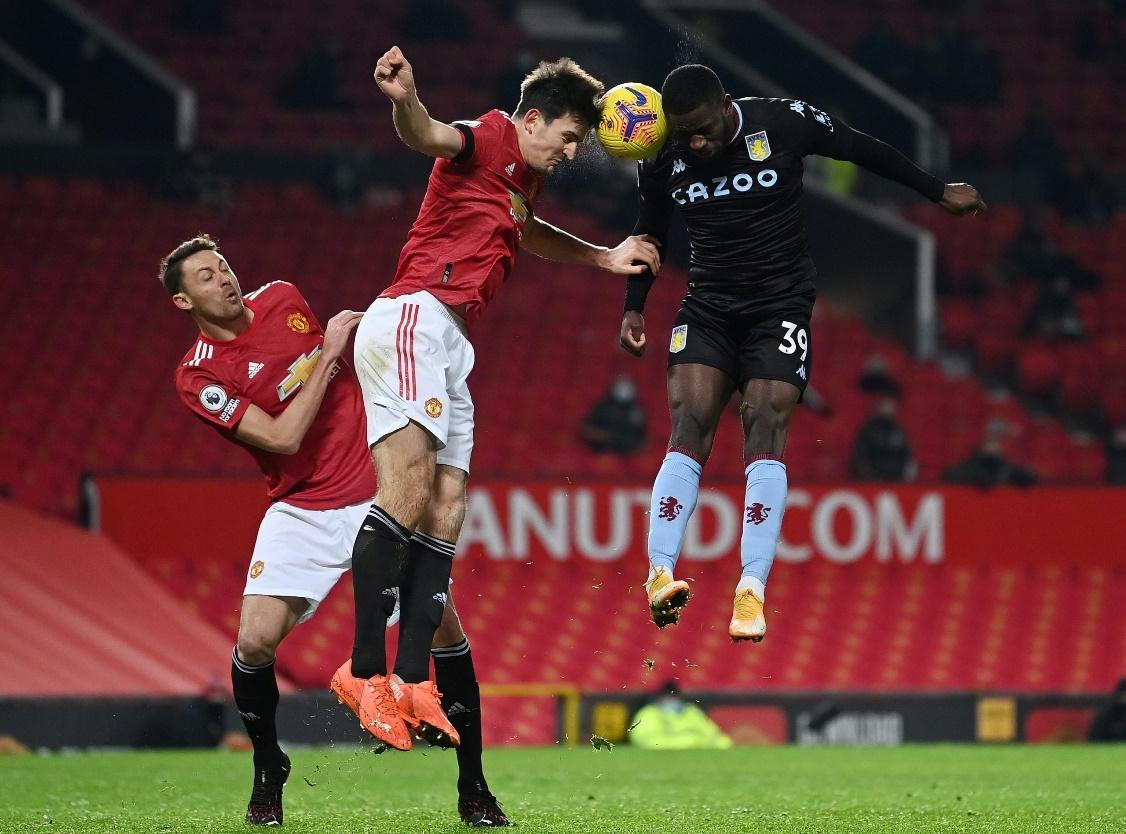 Aston Villa đã thua Man United 1-2 ở trận lượt đi