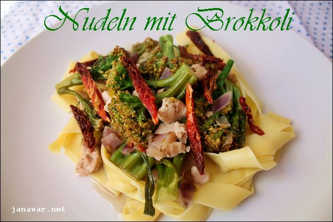 Kochbuchmittwoch: Nudeln mit Brokkoli
