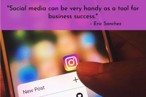 """""""Social media can be very handy as a tool for business success. One way it helps is by giving you a chance to find out what it is that your target client pool wants. Finding your niche in the market is very important in ensuring that your business does well. Setting up profiles and accounts on different sites also works by allowing your potential clients to see what you have to offer thus drawing them to your business. Managed IT support helps your marketing team focus more on marketing, and not have to deal with IT issues."""" – Eric Sanchez"""