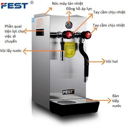Máy đun nước áp suất cao Fest RC-800H - ảnh 1