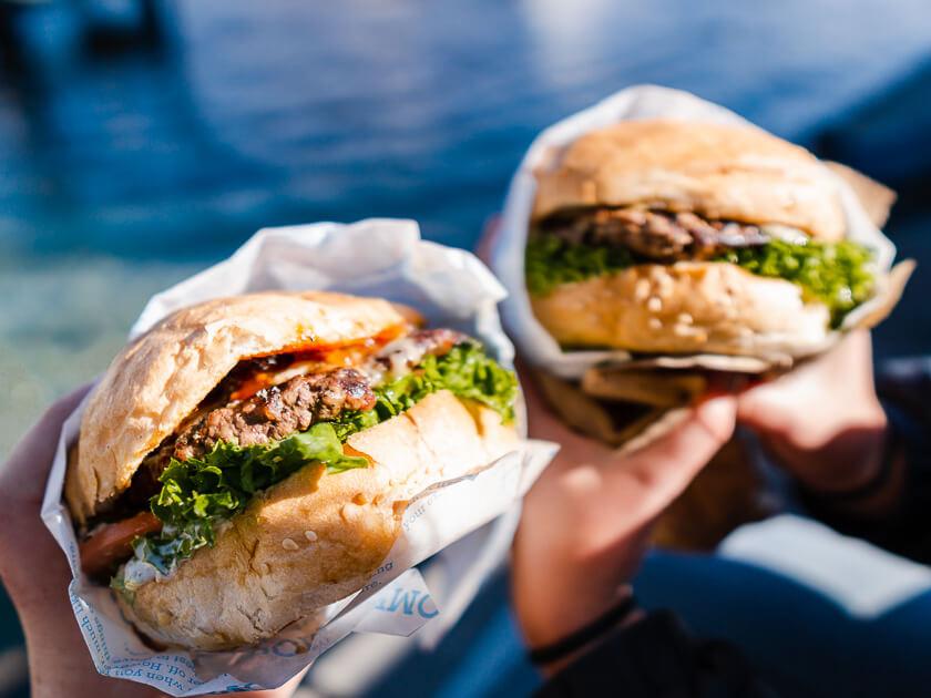 Ferg Burger Queenstown Restaurant.