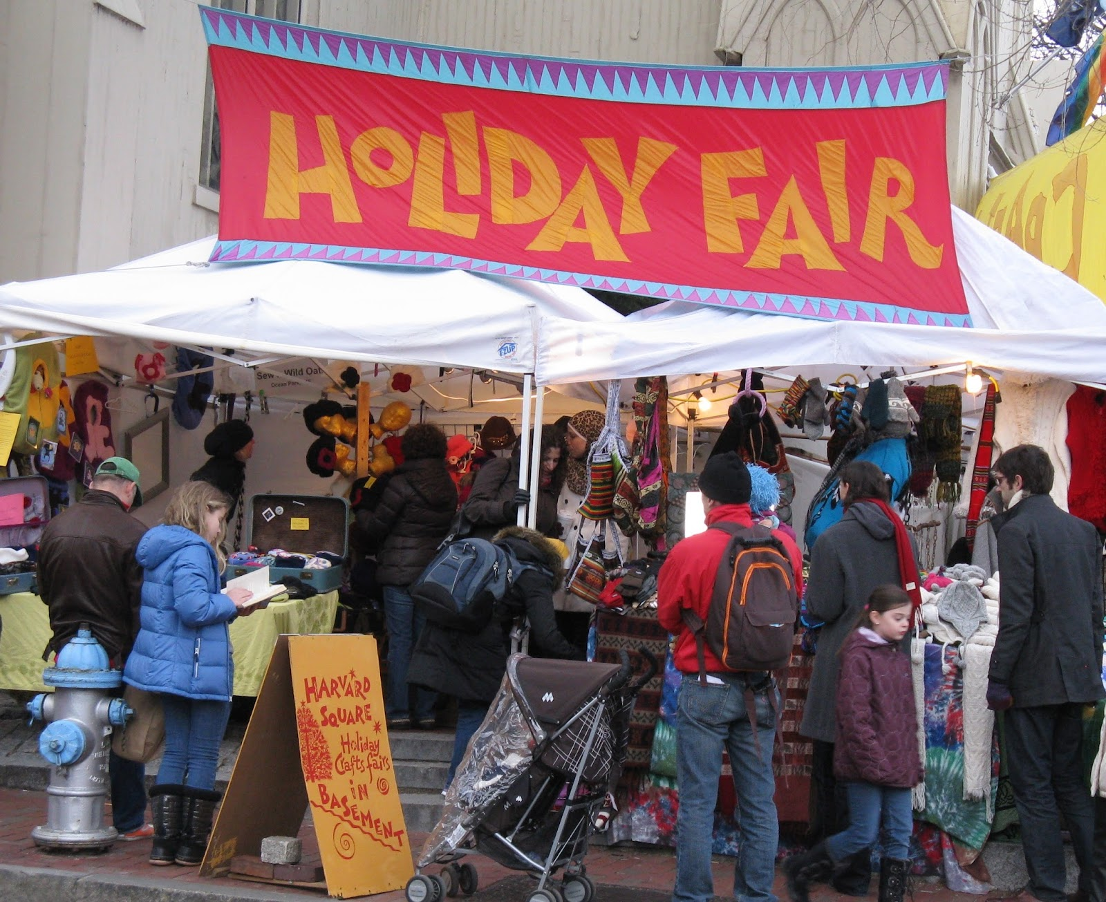 Harvard Square Holiday Fair