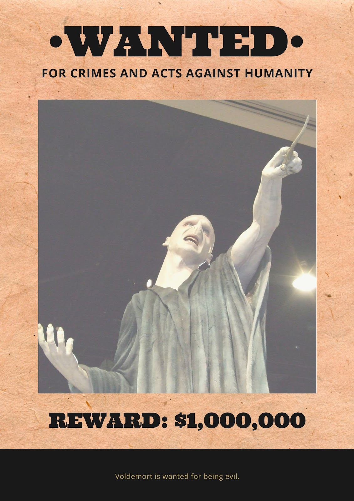 Canva Wanted Poster
