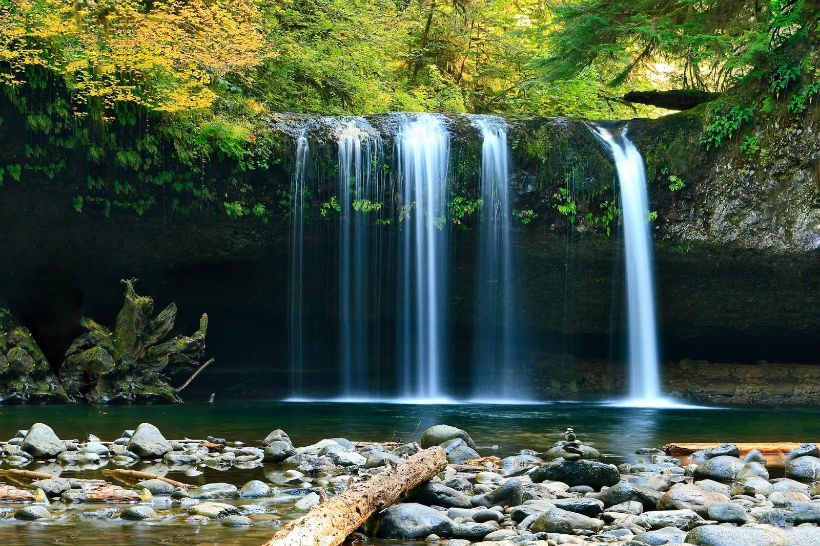 long exposure waterfall