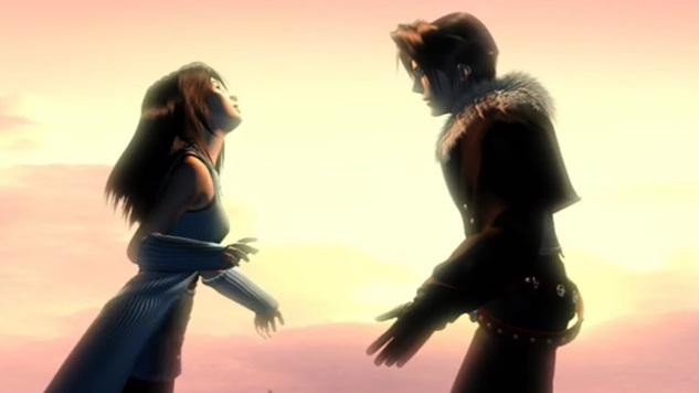 Final Fantasy VIII is not a top PS1 RPG - romantic scene