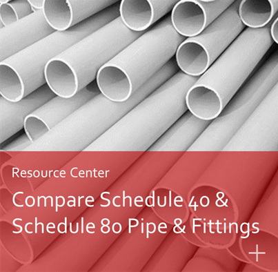 Compare Schedule 40 and Schedule 80 Pipe