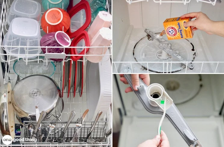 Helpful steps to get your dishwasher fresh and clean....