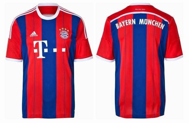 brand new 5faff 90e89 Bayern Munich 2014-15 Away Third Kits Released