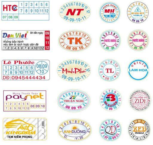 Địa chỉ in tem bảo hành uy tín chất lượng