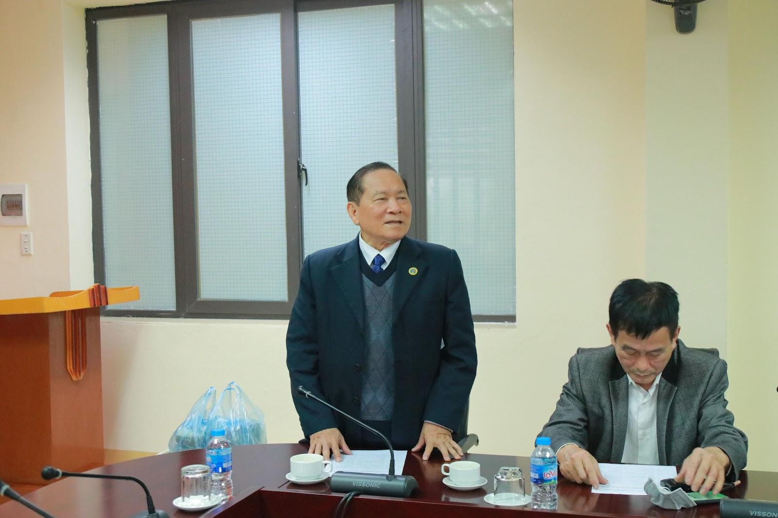 Ông Nguyễn Doãn Kình phát biểu tại chương trình