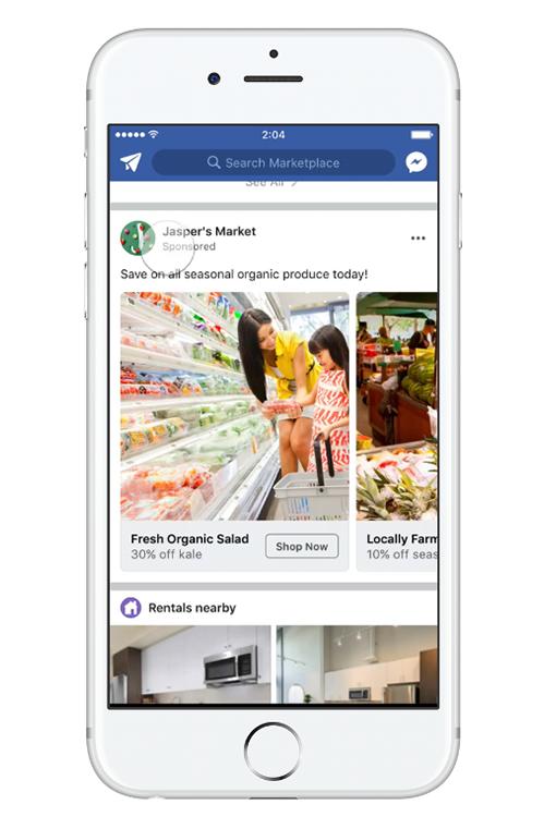 Facebook Ad Size Facebook Marketplace Carousel Ad