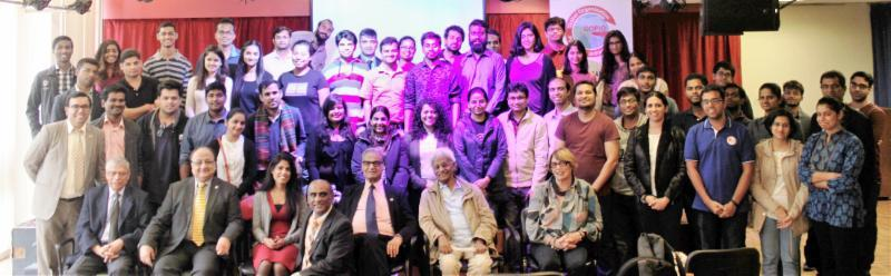 Indian Students of Maison de lInde attending Welcome Day