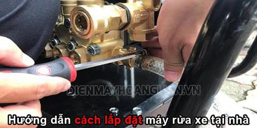 Cách lắp ráp máy rửa xe tại nhà dễ như trở bàn tay
