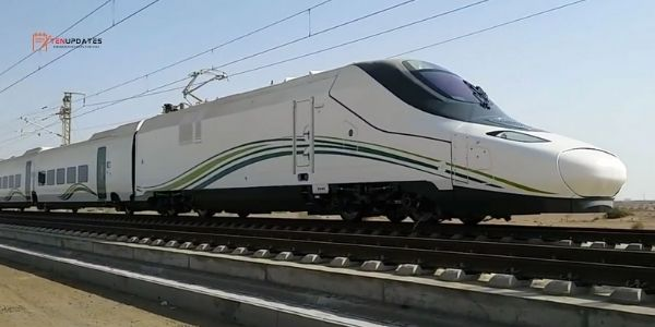 HARAMAIN WESTERN RAILWAY - 350 km/h