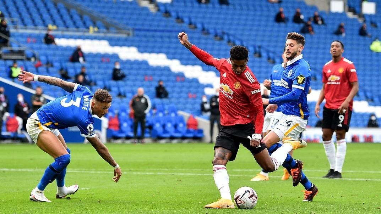 Manchester United đã hạ Brighton 3-0 ở trận đối đầu gần đây nhất