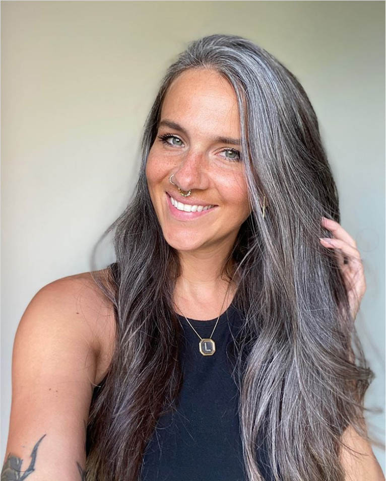 25 Women Going Gray Gracefully Who Will Inspire You to Quit Dying Your Hair 16