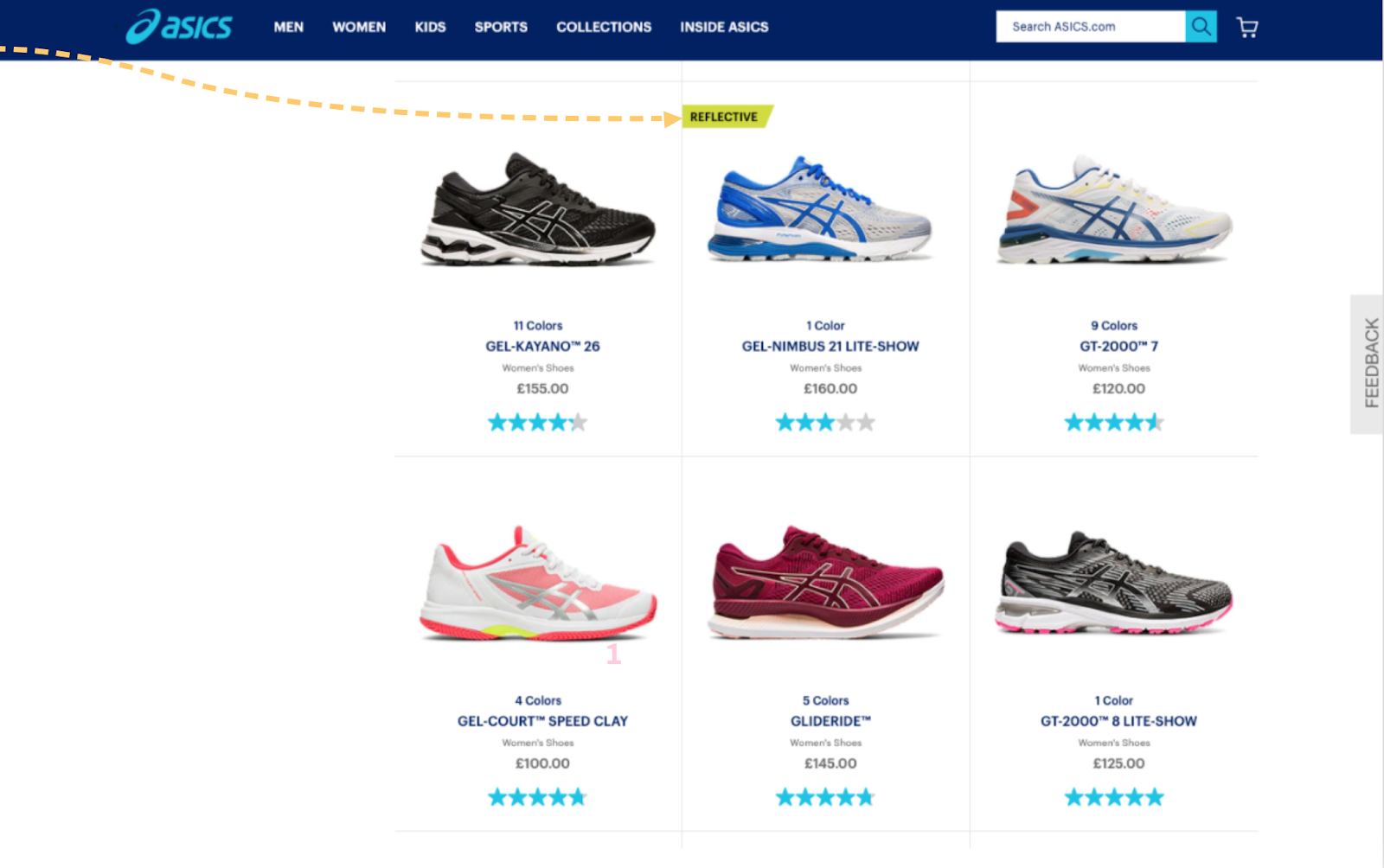 conversion funnel optimization example asics