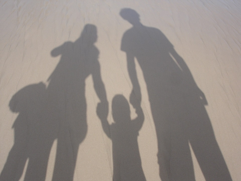 Family, Together, Parenting, Lifestyle, Parents, Beach