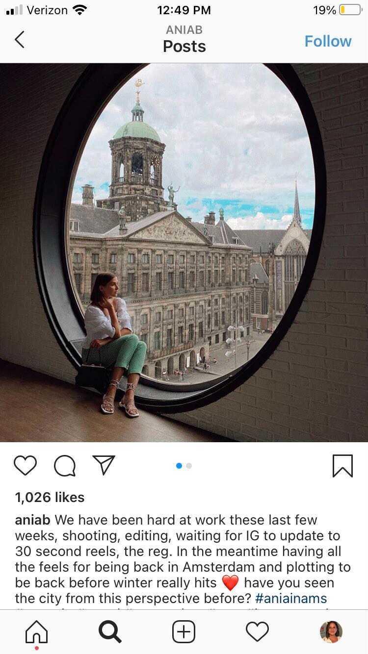 travel Instagram aniab