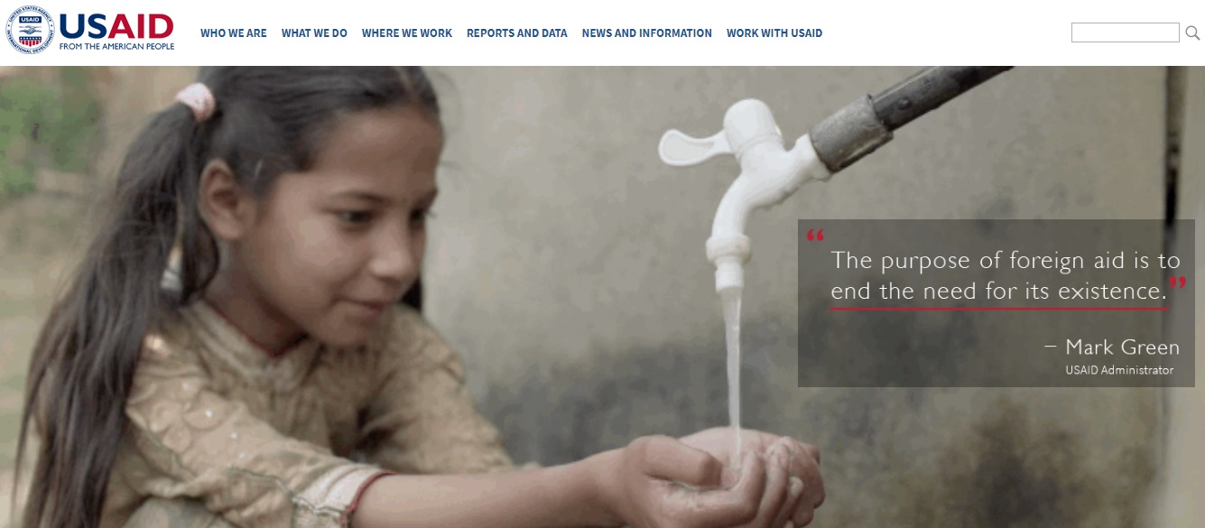 usaid website