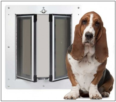dog door for wall