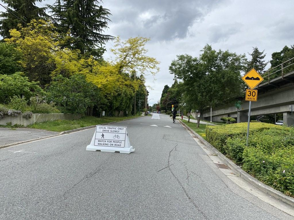 Vancouver também fechou diversas ruas. (CC Search/Reprodução)
