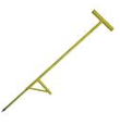Applicator tool used to apply W-clips that secure twine to the group for trellising hops. $63.99 + tax