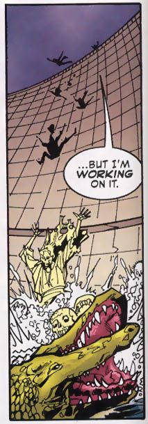 Aquaman calls crocodiles to Adayiman