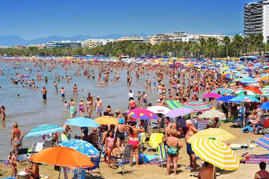 Resultado de imagen de playas de salou