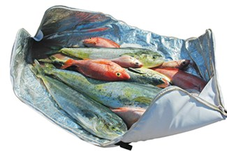 CE Smith Tournament cooler bag is insulated to preserve your catch.