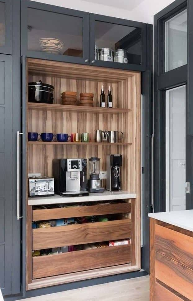 Pantry Coffee Bar Idea