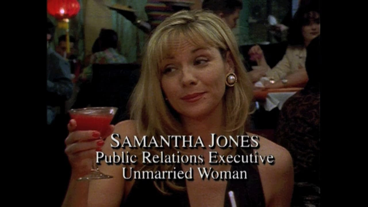Image result for samantha jones sex and the city