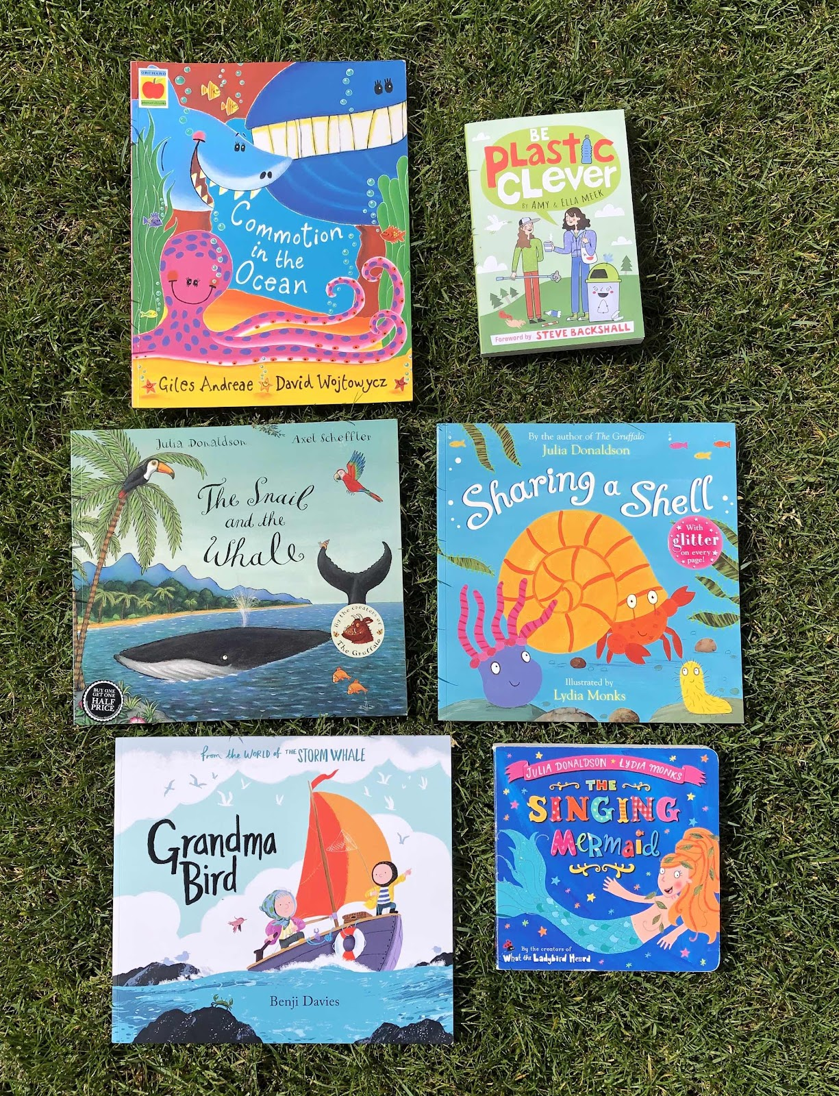 Ocean children's books