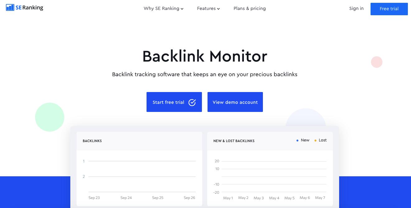 se ranking backlink checker