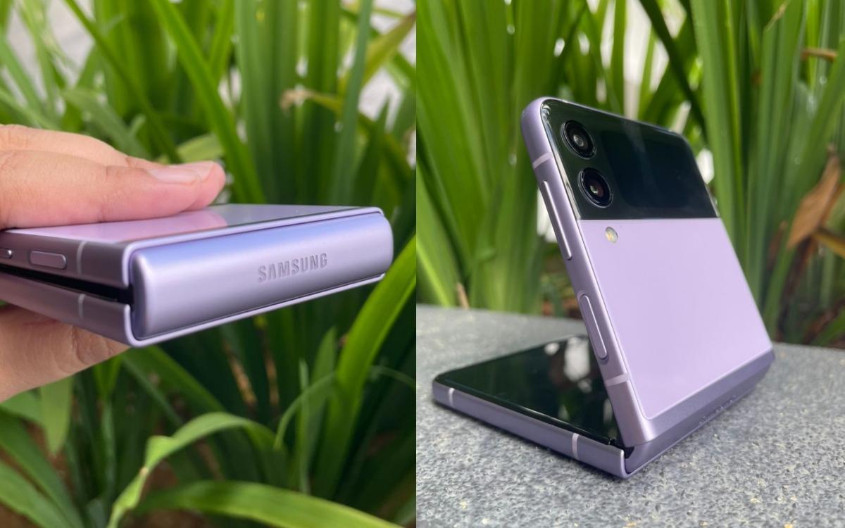 Reka bentuk Galaxy Z Flip3 yang minimalis