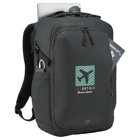 computer logo backpack