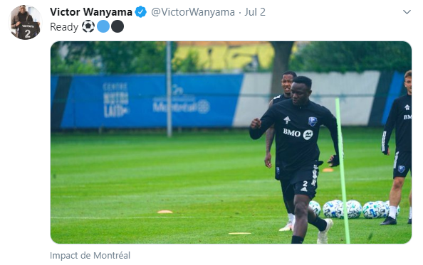 Victor Wanyama Twitter Screenshot Ready