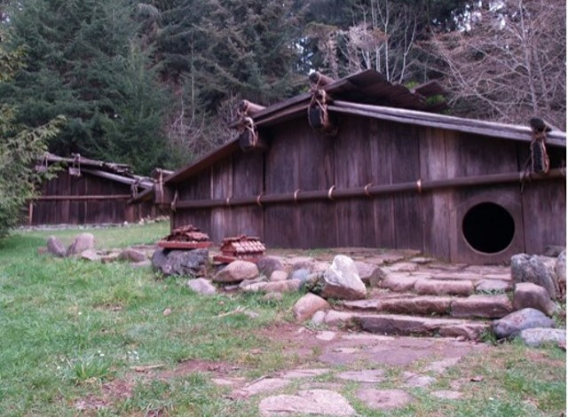 Stupendous Shelter Yurok Indians Best Image Libraries Counlowcountryjoecom
