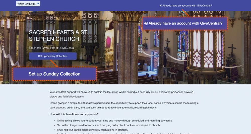 SACRED HEARTS & ST. STEPHEN CHURCH