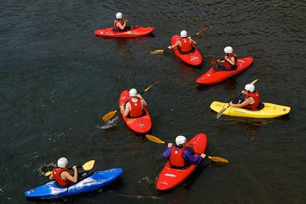 Image result for kayaking boy scout