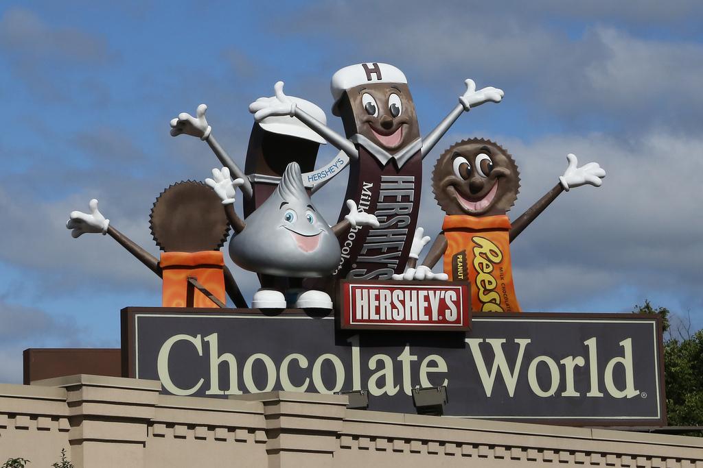 ... Hershey's Chocolate World ...
