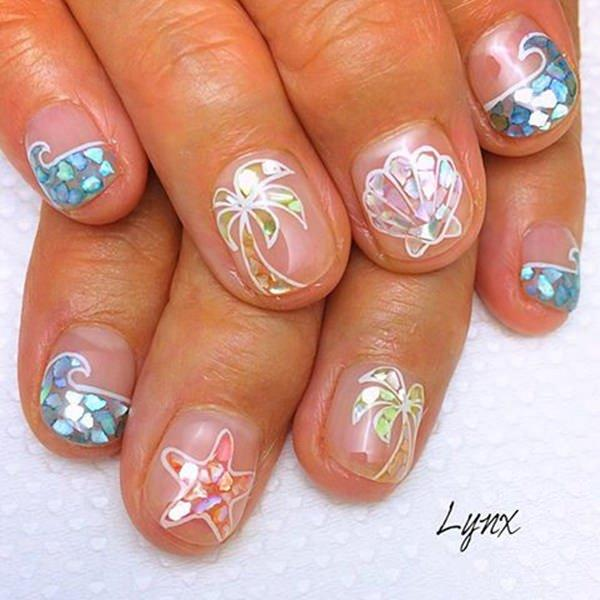 cute nail designs creem (77)